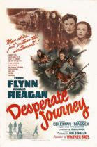 Desperate Journey 1942 DVD - Errol Flynn / Ronald Reagan